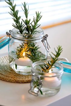 Sharyn loves using our glass storage jars for a range of weird and wonderful uses! Fill your guests bathroom with candles and fresh smelling flowers/greenery. Check out the huge range of colours and sizes online: http://farm.rs/13BSQYH