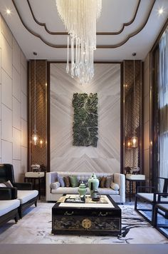 Asian fused modern interior. See more design ideas @http://www.delightfull.eu/