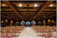 Scottish Rite Cathedral South Lounge wedding ceremony   Scottish Rite Events #weddingreception #Indianapolis