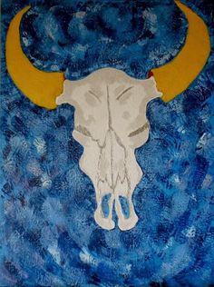 Arte Moderna & Contemporânea: Crânio de Touro