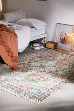 Shop Sarafina Printed Chenille Rug at Urban Outfitters today. Bedroom Inspo, Bedroom Decor, Classic Rugs, Curtain Patterns, Chenille, My New Room, Boho Decor, Room Inspiration, Snuggles