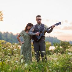 Pretty. We should bring Todd's guitar to our engagement session.   Sunset engagement photography that with two very talented musicians who sang and played through out the morning.