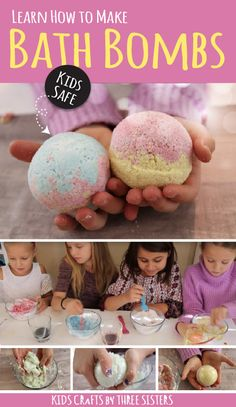 Learn how to make kids safe bath bombs with this super easy recipe. Learn how to make kids safe bath bombs with this super easy recipe. The post Learn how to make kids safe bath bombs with this super easy recipe. appeared first on Toddlers Diy. Mason Jar Crafts, Mason Jar Diy, Crafts For Teens, Diy For Kids, Bath Boms Diy, Bombe Recipe, Bath Bomb Recipes, Easy Bath Bomb Recipe, Diy And Crafts Sewing