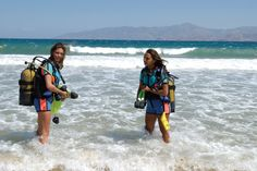 Paros is the ideal place for scuba diving enthusiasts Windsurfing, Wakeboarding, Mykonos, Santorini, Greece Islands, Paros, Rock Climbing, Horseback Riding, Water Sports