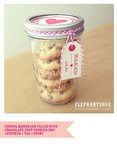 Lovely sweet jar gift idea