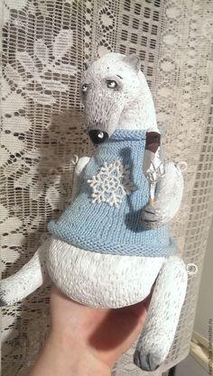 Купить Нежный,снежный,белоснежный) - белый, мишка, белый мишка, Север, зима, Новый Год