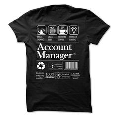 ACCOUNT MANAGER T-Shirt Hoodie Sweatshirts oaa
