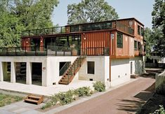 25 Incredible Modern Minimalist Container House Design Ideas For Inspiration Tiny House Design Container design House ideas Incredible inspiration Minimalist Modern Simple House Design, Minimalist House Design, Minimalist Architecture, Tiny House Design, Minimalist Home, Modern House Design, Contemporary Architecture, Architecture Design, Building Architecture
