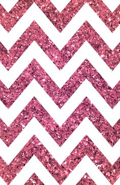 Glitter, Sparkle, Glow pink chevron iPhone wallpaper
