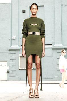 Givenchy Resort 2012 Fashion Show - Joan Smalls