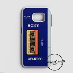 Awesome Mix Tape Vol 1 Sony Walkman Samsung Galaxy S7 Edge Case | casescraft