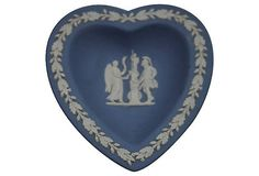 Vintage Wedgwood Jasperware Neoclassical Heart by TheSilverOyster