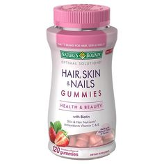 Nature's Bounty Optimal Solutions Women's Multivitamin Gummies 80 Count (Pack of 50 mg of Collagen Good Multivitamin For Women, Best Multivitamin, Antioxidant Vitamins, Healthy Aging, Nutritional Supplements, Healthy Life, Health And Beauty, Beauty Skin, Beauty Products