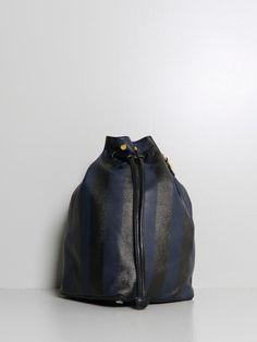 secchielo bag stripe navy - oak nyc