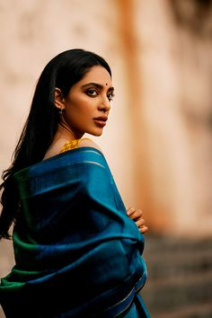 Sobhita Dhulipala is a Bollywood actress, model and Miss India Find the fashion photoshoot by Arjun Kamath of the actress from Chef & Raman Raghav Style Photoshoot, Indian Photoshoot, Indian Aesthetic, Saree Poses, Indian Attire, Indian Wear, Indian Girls, Beautiful Models, Girl Photography