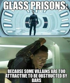 Glass Prisons:  because some villains are too attractive to be obstructed by bars