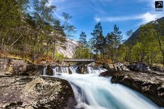 Mountains and Rivers near the Hardangerfjord in Norway - by Alexander Zachen at 500px