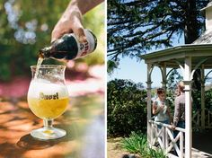 Duvel beer in Flemish Flavours' summer garden. Advertising Photography by Evangeline Aguas Advertising Photography, Food Photography, Product Photography, Belgian Beer, Blue Mountain, White Wine, Craft Beer, Alcoholic Drinks, Restaurant