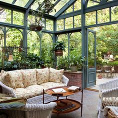 Patio English Cottage With French Country Furn Design, Pictures, Remodel, Decor and Ideas