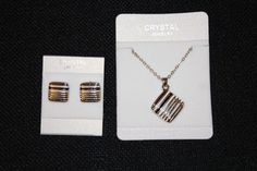 Necklace and earring set128   Cindy's Simple Pleasures, LLC