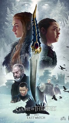 Game of thrones season 7, episode 5, East watch