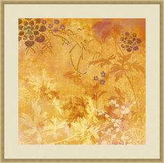 Trends Ginger Fall II Framed Painting Print
