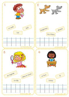 Bulk Phrases - The CP Class Domrod, Education Learning To Write, Teaching Reading, Learning Activities, Kids Learning, Read In French, French Kids, French Teacher, Teaching French, French Worksheets