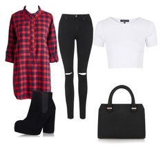 """Untitled #62"" by adamasavage on Polyvore featuring Topshop and Victoria Beckham"