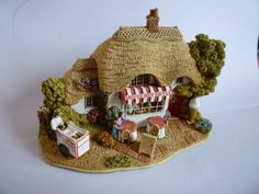 "Lilliput Lane ""Raspberry Ripple"" c/w Deeds & Origional Box 