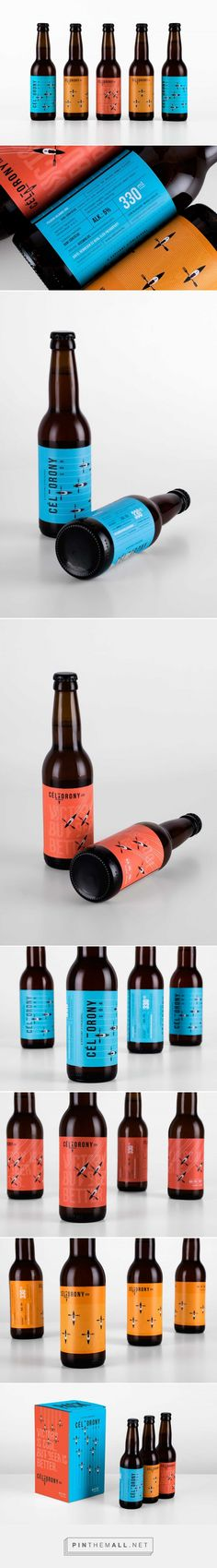 Céltorony Craft Beer Selection - Packaging of the World - Creative Package Design Gallery - http://www.packagingoftheworld.com/2017/04/celtorony-craft-beer-selection.html