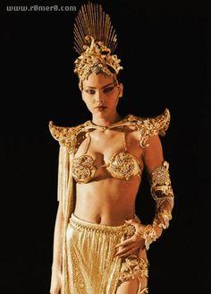 "Super-babes in TV & Movies #13: Ornella Muti as Princess Aura (""Flash Gordon"", 1980)"