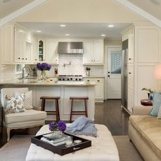 25 Dreamy White Kitchens Traditional KitchensTraditional DesignTraditional Living