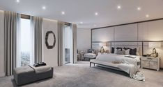Master Bedroom, St James Penthouse - Morpheus London