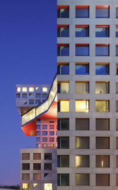 Linked Hybrid, Beijing China (2003-09) | Steven Holl Architects