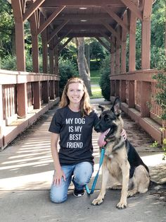 If your dog is your best friend then I have your new favorite t-shirt! It's lightweight and super soft so it makes for a comfy everyday shirt that goes great with any outfit! 10% of your purchase is donated to help dogs in need at local animal shelters. Dog Dad Gifts, Dog Lover Gifts, Dog Lovers, Best Friend T Shirts, Your Best Friend, Cute Dogs Breeds, Dog Breeds, Puppy Pictures, Dog Photos