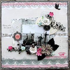 Layout: Our Story **Scraps of Elegance**