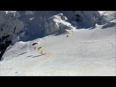 speed fly down mont blanc