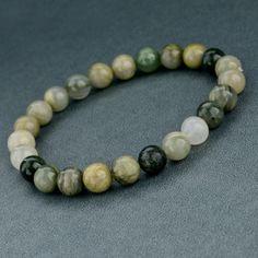Earth Tones Beaded Bracelet Fashion Bracelets, Bangle Bracelets, Fashion Jewelry, Bangles, Link Bracelets, Necklaces, White Beads, Stone Bracelet, Natural Stones