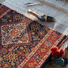 Each Persian Carpet  Has Got a Story.