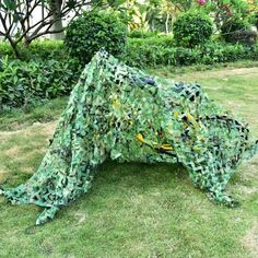 Camouflage Camping Net Woodland Leaves Net Military Shelter Cover New Camping Gas, Tent Camping, Outdoor Camping, Boat Supplies, Camping Supplies, Hunting Camouflage, Military Camouflage, Hunting Packs, Outdoor Sporting Goods