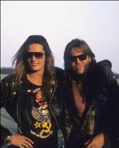 Joey Tempest & Sebastian Bach  A double Wow.  Pitter Pat, Pitter Pat