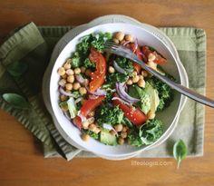 Lifeologia-Kale-Chickpea-Pick-me-up-Salad2, chard instead of kale works