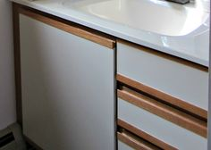 Painting Laminate Cabinets Before and After | ... painting laminate. So I did one of the things I do best – research