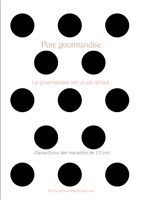 Printable Macaron Templates From PuregourmandiseCom  Pure