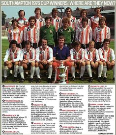 Southampton FC. Back when football was simple.