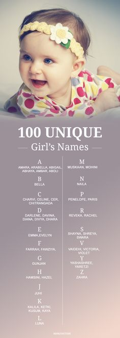 Baby Girl Names: collection of names you can keep for your baby girl, these names have unique and special meanings,at the same time they are not too unusual– just what you needed right? #baby