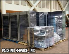 When it comes to Shrink Wrapping valuables, we know what we're doing. Give the pros of Packing Service, Inc. a call when you need Moving and Shipping Solutions. We Pack, Load, Palletize, and Shrink Wrap your goods. www.packingserviceinc.com 888-722-5774