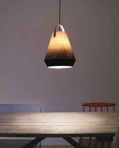 The lamp 'Konkret' by Jonas Edvard