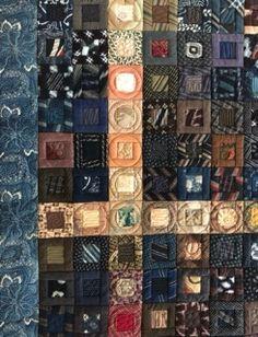 Log Cabin Quilt ログキャビンのキルト – Patchwork Quilt パッチワークミシンキルトNakazawa Felisa 中沢フェリーサ