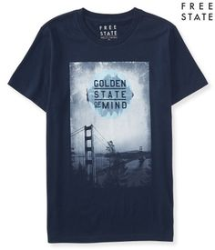 Free State Golden Gate Graphic T - Aeropostale